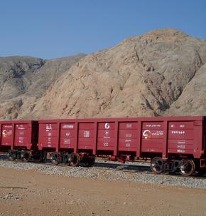 171 دستگاه واگن لبه بلند(انواع مواد معدنی، فله، گندله، کنسانتره و سنگ آهن)