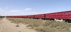 اولین محموله صادراتی در واگنهای شرکت سینا ریل پارس بارگیری شد.