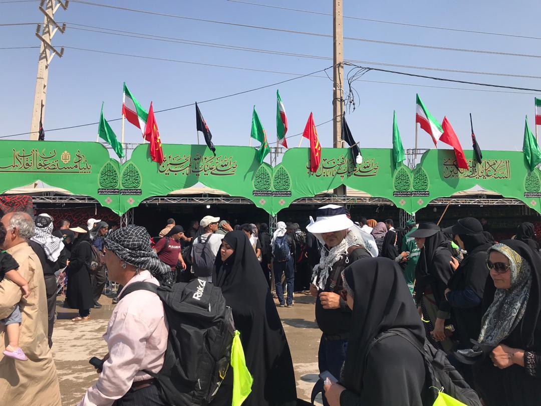 حضور پر شور کارکنان شرکت سیناریل پارس در موکب های مرزی متعلق به بنیاد مستضعفان انقلاب اسلامی