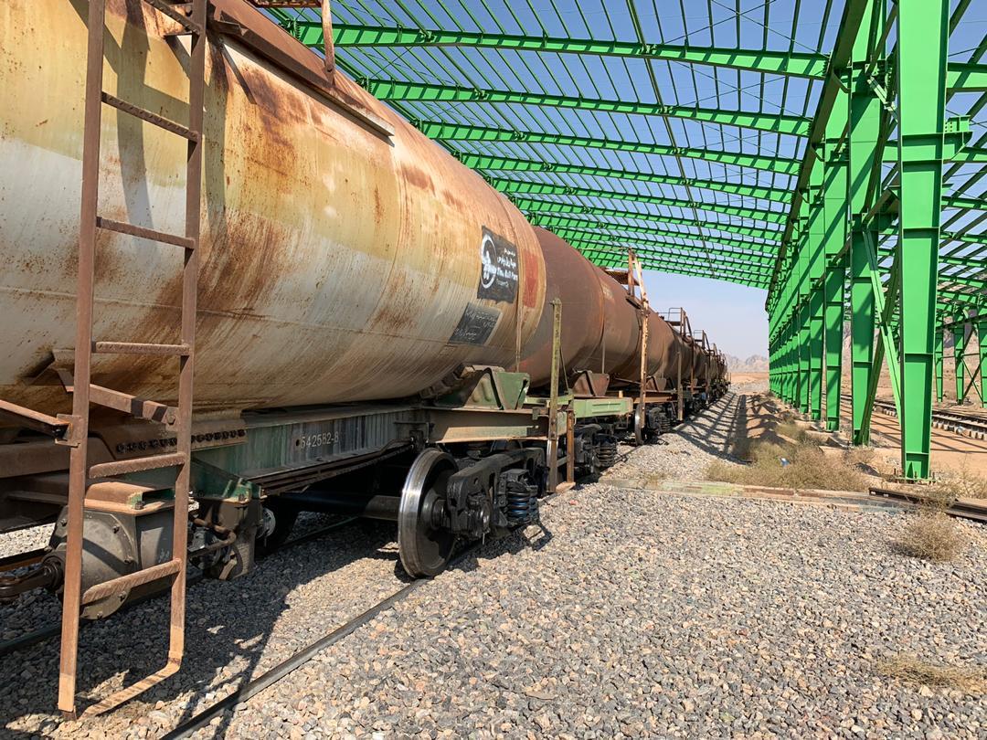تحویل گیری ۱۰ دستگاه واگن حمل سود مایع و اضافه شدن آن به ناوگان شرکت سینا ریل پارس